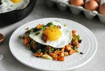 breakfast recipes / Breakfast recipes- a great assortments of egg dishes, breads, and sweets! / by Kristen @DineandDish