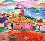 Matisse / The art of Henri-Émile-Benoît Matisse  a French artist 1869-1964.  Impressionism, Modernism, Modern art, Fauvism, Neo-impressionism
