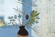 Winifred Nicolson / The art of Winifred Nicolson an English painter and colourist. 1893-1981