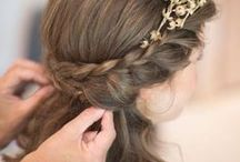 """HONEYCOMB: half-up hair / Style inspiration for the beautiful """"half-up, half-down"""" hair style"""