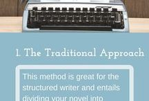 Creative Writing Techniques & Inspirations: novels, short stories, ideas / All sorts of images and infographics about fiction - the initial spark, the techniques of growing a book or a story, the process and the pleasures.