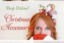 Holiday headwear / Holiday headwear by Tinseled Tiara. Shop online: http://www.tinseledtiara.etsy.com