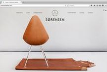Sorensen Leather / Brand New Website / NORM.Architects spearheaded the re-bootiing of our brand image, with Jonas Bjerre-Poulsen at the creative helm, working in conjunction with StudioC and Julie Ralphs. www.sorensenleather.com