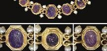Tru-Amethyst / Amethyst is the birthstone of February and was perceived as the calming stone by Ancient Greeks to eliminate impatience. This board reflects on Amethyst symbolism and stunning vintage jewellery containing Amethysts.