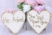 wedding ideas :) / I am just collecting ideas...for now :P / by Angela Dombrowski