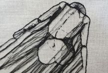 hoop & embroidery / aros y bordados / by piraita .