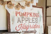 The Leaves are Falling / Halloween & Fall décor and activities  / by Rachel Lindgren