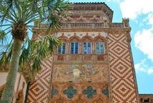 Ca d'Zan / the home of John Ringling (1866-1936) of Ringling Brothers circus http://www.ringling.org/CadMansion.aspx