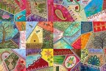 quilts: go crazy / gotta love a good crazy quilt! / by laura west kong