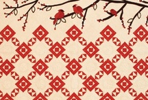 quilts: paint the town RED / by laura west kong