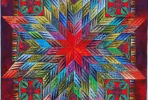 quilts: star struck / shine bright, star quilts! / by laura west kong