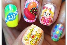 Candy Crush Nail Art / Shut the front door - we've collected the coolest Candy Crush Nail Art pics here. You're welcome, Verseo.com / by Verseo Health & Beauty Direct