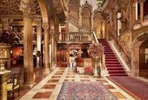 Grand Hotels / Exploring the most enticing and memorable hotels~old & new!