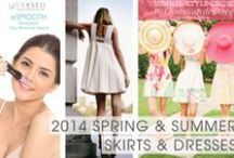 2014 Summer Skirts & Dresses / Um, yeah, fuzz doesn't go well with these sweet little summer skirts and dresses. See Verseo.com for latest permanent hair removal products from home. / by Verseo Health & Beauty Direct