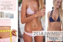 2014 Swimsuit Trends / Latest bikini, tankini, and swim suit trends for 2014. #swimsuit #bikini #2014swimwear. Get ready for summer with Hollywood Detox Body Wrap from Verseo.com / by Verseo Health & Beauty Direct