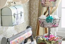 home life | craft room / by Renee Marinchek
