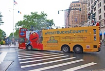 #VisitBucksCounty Ads / Don't be surprised if you're riding a bus or train in New York City or North Jersey and see an advertisement for Bucks County! If you see an ad, take a picture and tweet it to us using the hashtag #VisitBucksCounty.