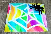 Halloween Fun / Fun ideas for families to celebrate Halloween! Games, crafts, snacks, decorations, and party ideas to celebrate Halloween with kids