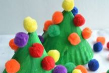Christmas Fun / Christmas crafts, ornaments, activities, and play ideas - everything to make the season magical with kids!