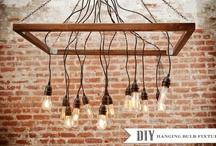 DIY Lights + Lamp Decor