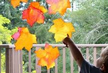 Fall Activities for Kids / Fall fun - crafts, activities, family time, games, play ideas, food - everything that makes autumn awesome for kids!
