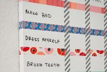 Organization / Ideas to help control and contain the frenzy! Ideas to help store, sort, organize, and make things look pretty even with kids in the house.