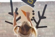 Winter Fun / Celebrate the season - ideas for winter play, crafts, and activities for kids