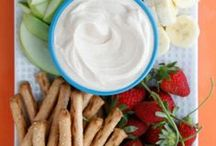 Healthy Snacks / Healthy snacks for the whole family - yummy ideas kids will eat! / by Carolyn Elbert