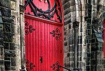 "The ""DOORS"" / Knockin' on Heaven's Door, Door Knobs and Door Locks / by Janie Burnette, REALTOR® Real Estate Georgia, Cumming, Forsyth County rea estate agent"