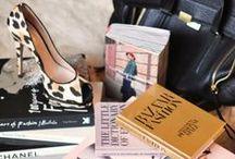 Pretty Books... and book arrangements / by Maegan Tintari /...love Maegan
