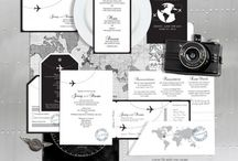 Come fly with me / Aviation themed wedding ideas
