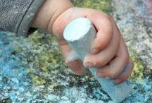 Sidewalk Chalk / Sidewalk chalk recipes, games, activities and ideas! All kinds of sidewalk chalk play for kids!
