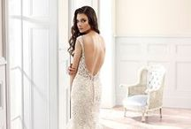 Eddy K 2015 Bridal Collection / See what's coming in 2015: Exquisite lace dresses, stunning backs and necklines, and Eddy K's signature beading and sparkle! / by Eddy K.