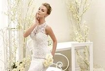 ADK 2015 Bridal Collection, by Eddy K / Exquisite and elegant lace dresses that highlight the feminine silhouette. / by Eddy K Bridal