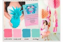 Fabulous flamingos wedding inspiration and ideas / Flamingo themed wedding inspiration