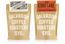 PACKAGING - Coffee Bags, Warm Vintage Style / A particular style of coffee packaging. We collected this for our own convenience and hope you like it, too.