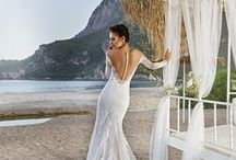 Favorite backs, by Eddy K. bridal / During the ceremony, all eyes will be on your back. That's why the back of a wedding dress is as important as the front. Here are some of Eddy K's most stunning backs / by Eddy K.