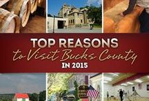 Top Reasons to Visit Bucks County in 2015! / High-profile museum exhibits, a brand new driving tour focused on barns, new construction, town revitalizations and a very furry birthday combine to make Bucks County a must-visit destination in 2015 and beyond. Located 75 miles from New York City and 125 miles from Baltimore, Bucks County is brimming with reasons to plan your next visit now to Philadelphia's northern countryside. Discover 10 reasons Bucks County needs to be on your travel bucket list this year.