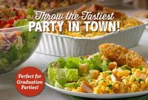 The Tastiest Party in Town / Be the host with the most and make your party the most flavorful soiree of the season! Here are some great tips and tricks to throw the tastiest party in town.