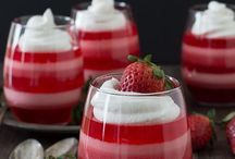 Jello Desserts & Fluffs