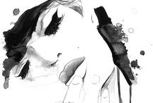 .:disegno:. / +watercolor+ +illustration+ +sketch+ +etc...+ / by Kyoco