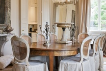 DINING ROOMS / Although many opt to forego the dressy dining room, we love having a dedicated space in the home for special meals and celebrations. / by Carol Raley Interiors