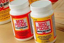 Mod Podge (YES!)