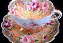 China, Chrystal, Pottery, Dishes & Table Settings / by Gayle Evans