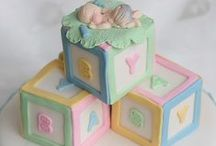 Baby Shower Cakes / by Susan Mitchell