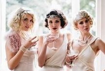 """Art Deco Weddings / 1920s and 1930s inspired weddings--Old Hollywood, Harlem Renaissance, Jazz Age, and Great Gatsby styles. (Don't forgot to see our """"Real Vintage"""" boards for actual vintage wedding photos.)"""