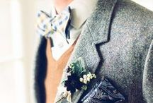 Great Groom Style /  (and dads, groomsmen, and all the other wonderful menfolk in your life)