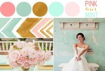 Wedding Colors / Wedding color palettes and color inspiration