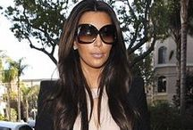Kim Kardashian / May not always care for her but I love her style.