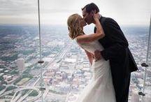 City Weddings / Bright lights, big city, beautiful wedding